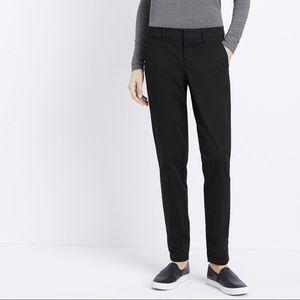 VINCE | sz 4 black boyfriend trousers